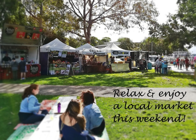 sacred tree market, nelson bay, port stephens, NSW, shopping, food trucks, designer markets, nelson bay foreshore, shopping, tourist attractions,