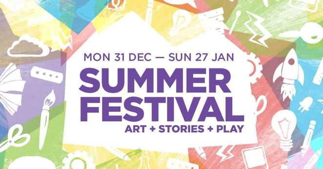 summer festival, art stories and play, community event, fun things to do, family friendly state library queensland, creative activities, publish your own book, future city, virtual reality club, digital diorama, interactive story map, custom robot racer, design a futuristic home, woodstock nursery rhymes, creative play space, fun for kids, summer stories
