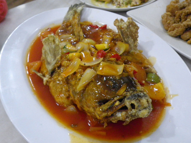 sweet sour fish homst taman tun
