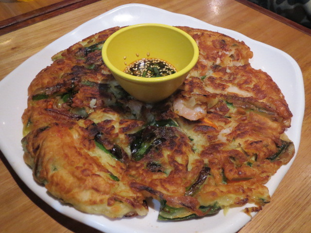 The Sparrow's Mill, Seafood Pancake, Sydney