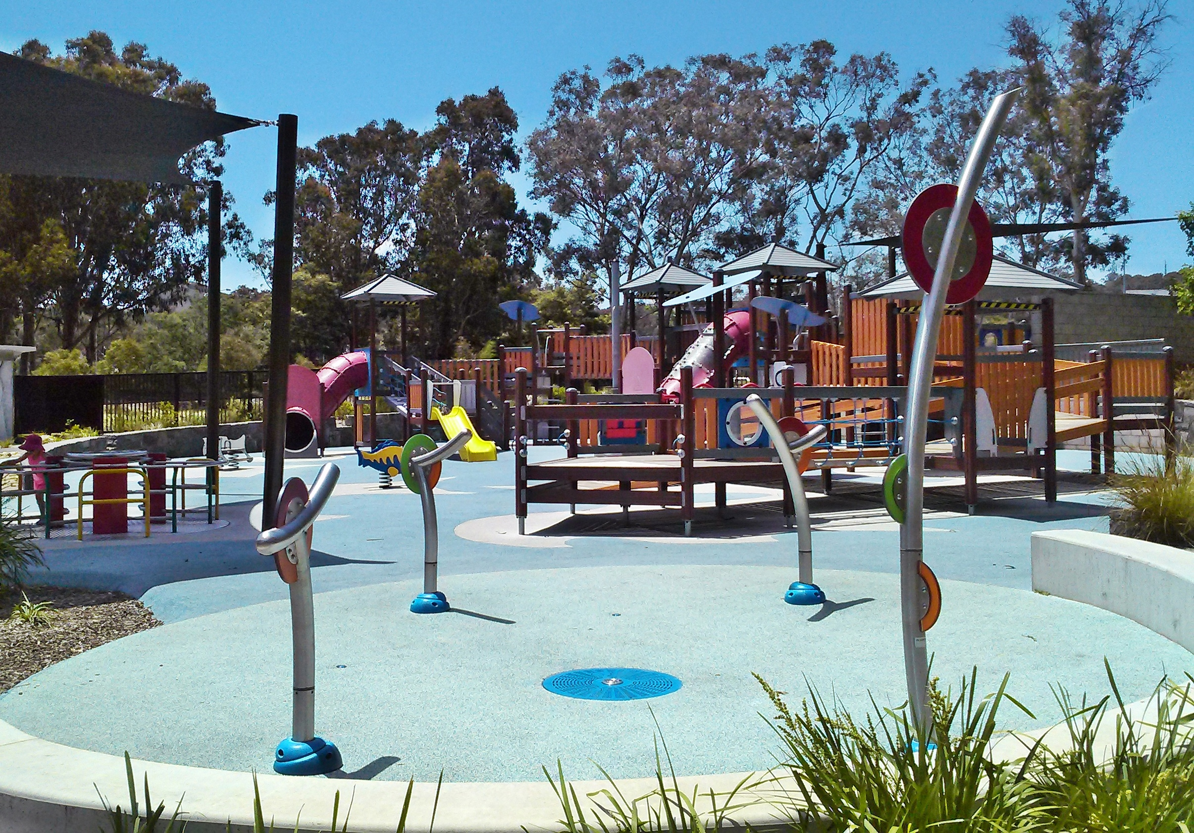 Kids Splash Parks and Water Play in Canberra - Canberra