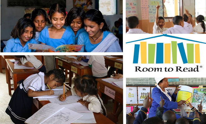 Children Supported by Room to Read