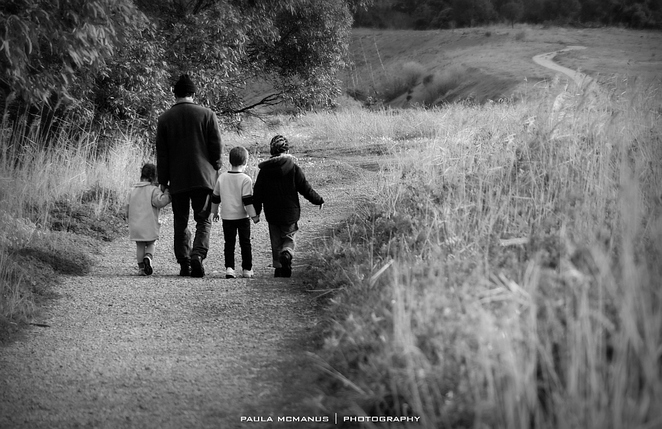 Walking with kids