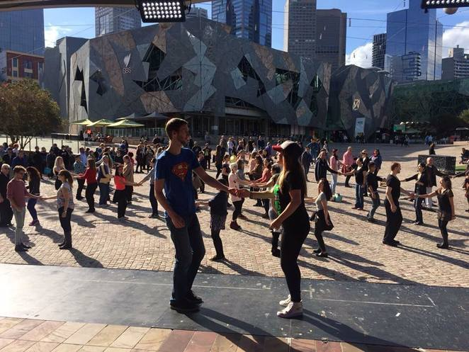 West Coast Swing classes Swing CityFederation Square