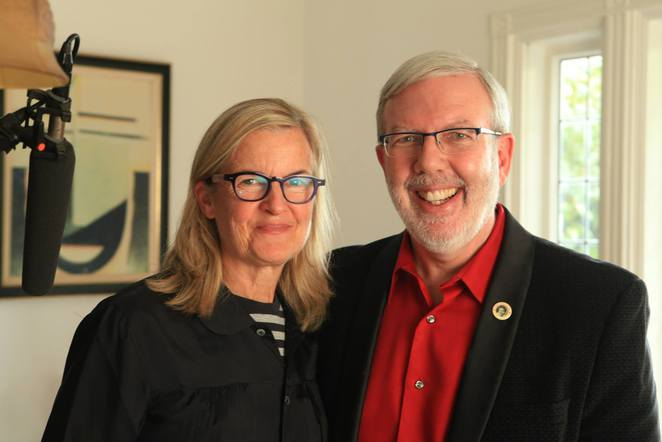 Gillian Armstrong with Leonard Maltin. 'Women He's Undressed'