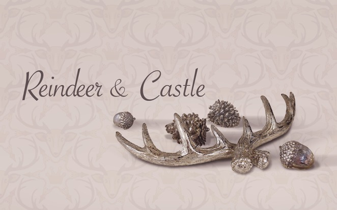 Reindeer and Castle
