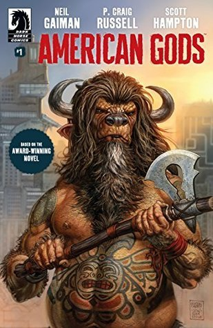 American Gods, American Gods comic, comics for Halloween, Neil Gaiman