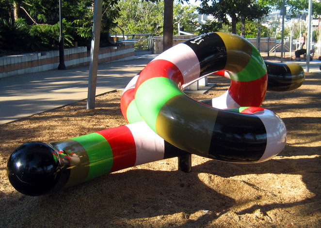 Is it art or a playground? Maybe both.