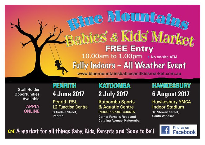 blue mountains babies kids market
