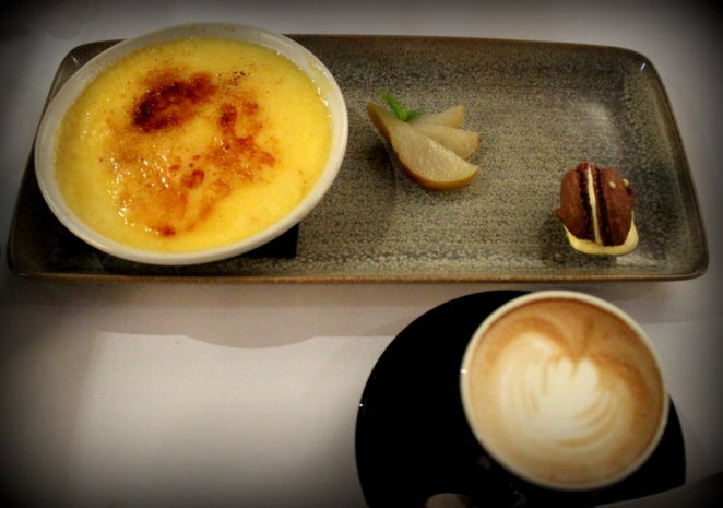 box on collins, seafood restaurant review, melbourne seafood, creme brule