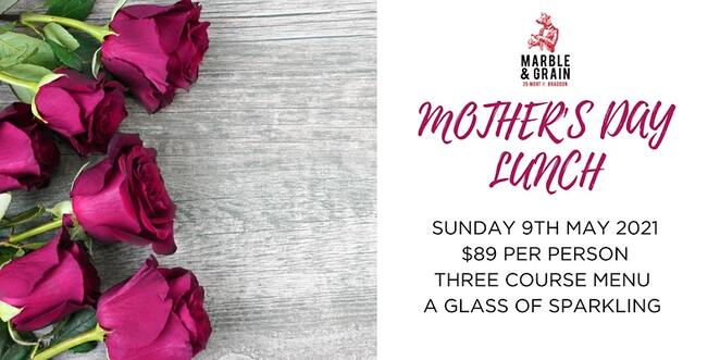 braddon, mort and grain, mothers day, 2021, events, whats on, lunch,