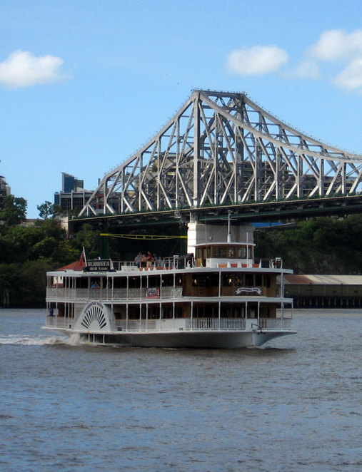 The Kookaburra Queen provides food, views and onboard entertainment