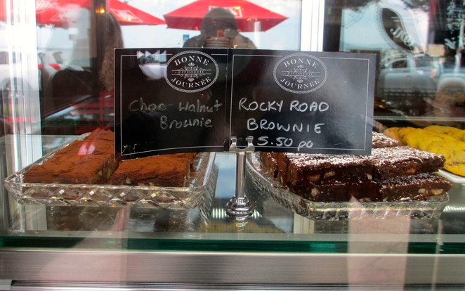 brownies, rocky road, rocky road brownies, bonne journee patisserie, terrigal, french pastry