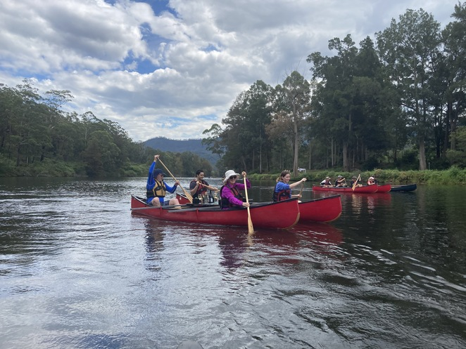canoes cool climate wines canapes kangaroo valley experience nature group