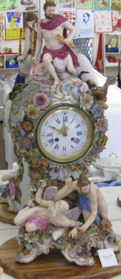 Carnival Teapot Extravaganza valuable clocks