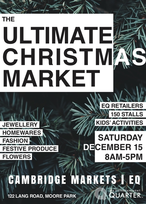 christmas markets, moore park markets, eastern suburbs markets