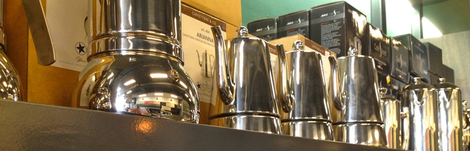 Coffee Company, coffee pots, balaclava