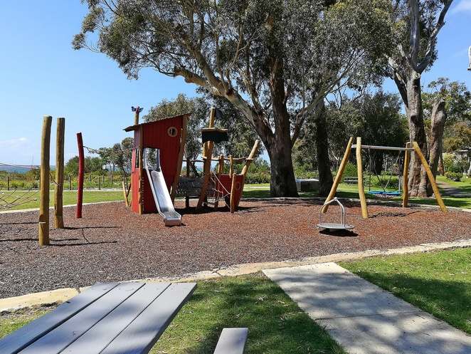 coreltte beach park playground, new playgrounds, port stephens, nelson bay, NSW, kids, children, school holidays, things to do, the anchorage, parks, toddlers, best parks in nelson bay,