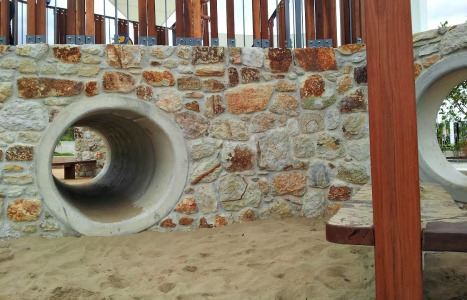 darlington parklands yarrabilba playground tunnel