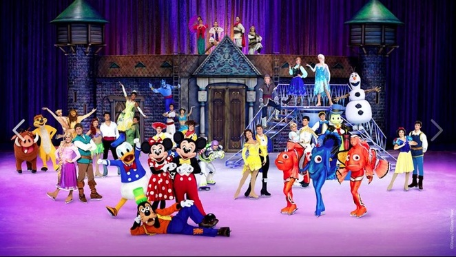 Disney on Ice Official Banner
