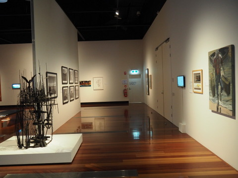 East Coast Encounter, Caboolture Art Gallery, art, indigenous art
