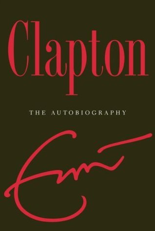 Eric Clapton, autobiography, book, cover