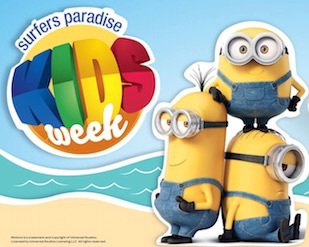 Family festival, kids week, school holiday ideas, family fun, school holiday fun, free events in surfers, free family fun, festivals in surfers paradise, minions