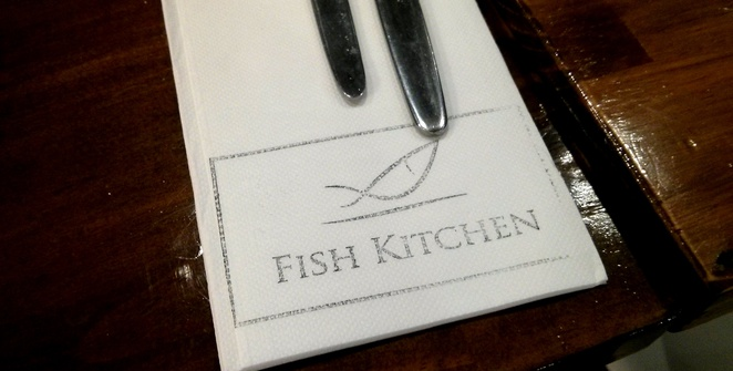 Fish Kitchen, restaurant, napkin