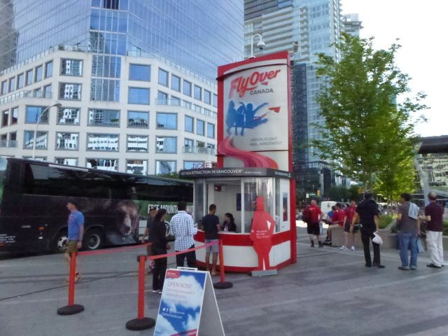 FlyOver Canada Ticket Booth