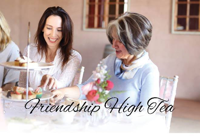 Friendship High Tea, Flaxton Gardens, champagne on arrival, hot beverage, Santa Gift, elegance, sophistication, girly, feminine, Merise Magazine, Woods & Bloom, Tracey Beard Photographer