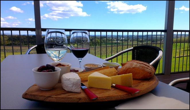 gemtree vineyards, gemtree cellar door, local produce platter, fleurieu peninsula produce, mclaren vale wines, cheese platter, organic wine, biodynamic vineyard, gemtree wines
