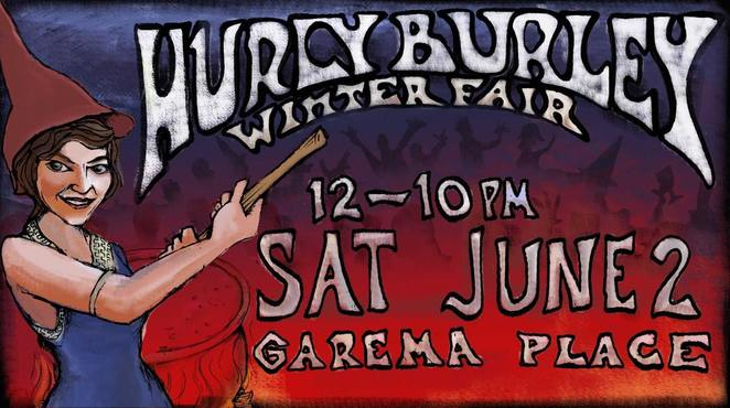 hurley burley winter fair, canberra, garema place, ACT, winter, kids activities, family, june, 2018,