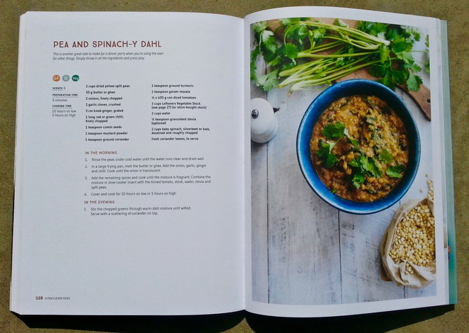 IQS, I Quit Sugar, Slow Cooker cookbook, Sarah Wilson, book, pea and spinach-y dahl