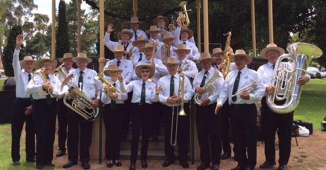 Kadina Wallaroo Moonta Brass Band, KWM Band, brass band, Copper Coast, musicians, big band, South Australia