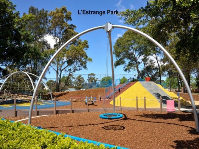 l'estrange park mascot, eastern suburbs fenced playgrounds