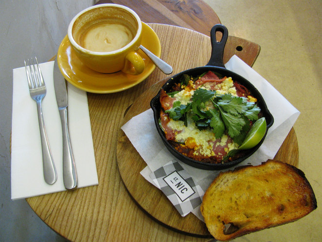 Soft-Baked Eggs at Lt Nic