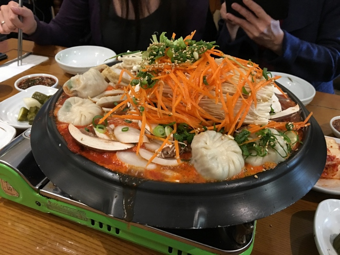Mandoo Korean Dumplings, Spicy Hotpot, Adelaide
