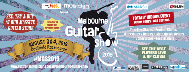 Melbourne Guitar Show, Caulfield Racecourse, live music, Triple M, electric, acoustic, USA, artist, musicians, Joe Bonamassa, win tickets