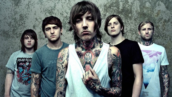 metal bring me the horizon band tattoos