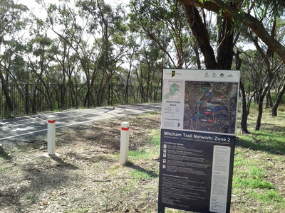 mitcham council trails bushland