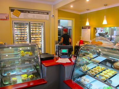 Mountain High Pie shop at Wentworth Falls, The Blue Mountains
