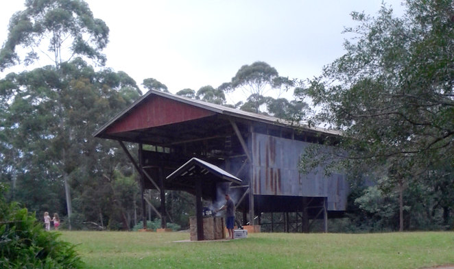 The Gantry Picnic and Barbecue area at Mt Mee