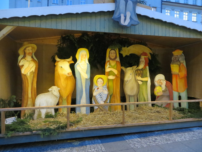 nativity, prague, christmas
