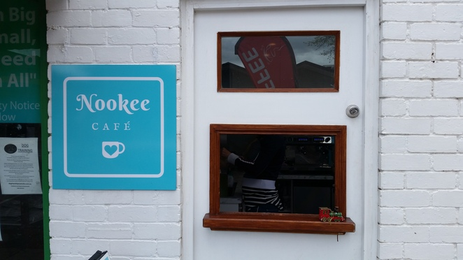 Nookee Cafe tiniest in Australia?