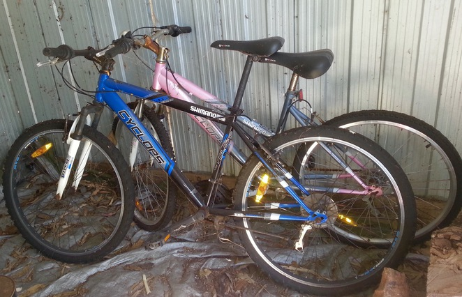 Old Bikes, Donate, Pushy Library, Unwanted bike, Old bicycles, rusty bicycles,