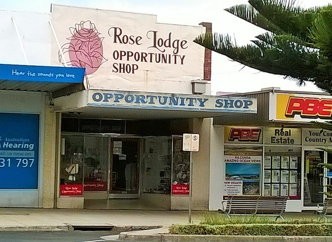 op shops, opportunity shops, thrift shops, charity shops, melbourne day trips, wonthaggi, rose lodge,