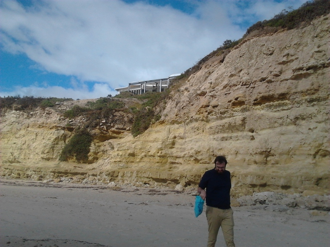 Port Willunga, cliffs, sandy cliffs, coastline, South Australia, wild, Star Of Greece restaurant