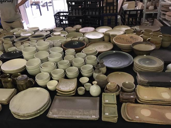 Pottery, pottery sale, seconds sale, ceramics, handcrafted, Japanese pottery, plates, bowls, cups, teapots, sake holder, candle holders, handmade, gifts, restaurant, café, entertaining, everyday use, Christmas, Artarmon, lower north shore, lilbusgirl