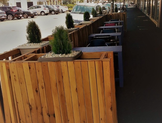 Relux Bar Outdoor Seating