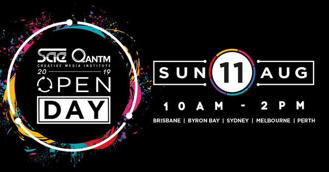 sae melbourne open day 2019, community event, fun things to do, sae institute melbourne, creative media education, melbourne campus, gopro fusion action camera, free event, educational, future career, educational institute open day